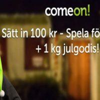 Julgodis från ComeOn
